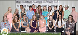 Ag Youths of the Month - South Plains