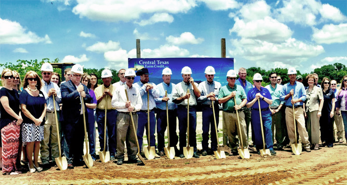 Central Texas Early branch groundbreaking